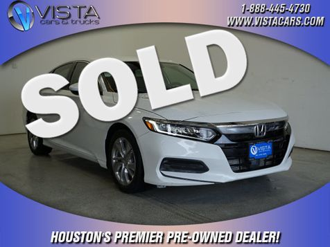 2019 Honda Accord LX 1.5T in Houston, Texas