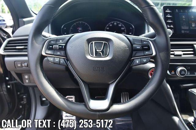 2019 Honda Accord Sport 1.5T Waterbury, Connecticut 21