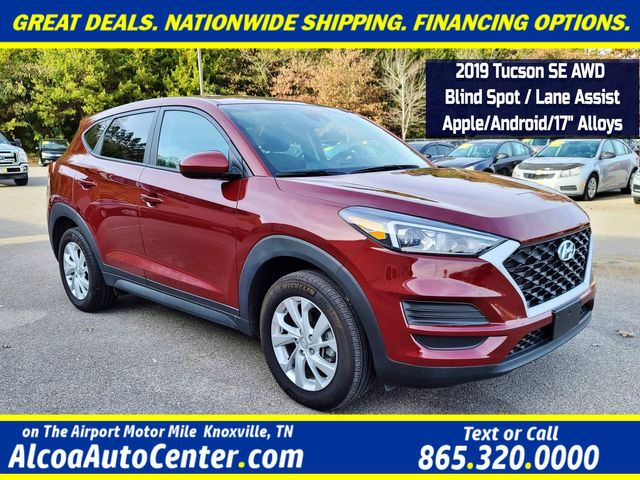 "2019 Hyundai Tucson SE AWD Blind spot/ Lane Assist/Apple/Android/17"" in Louisville, TN 37777"