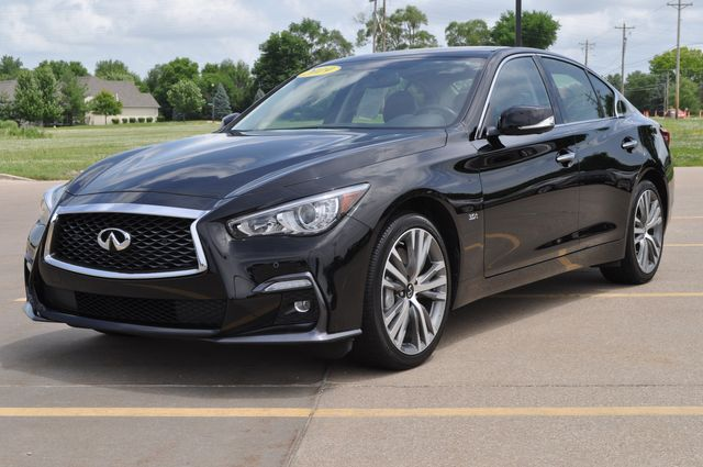 2019 Infiniti Q50 3.0t SPORT in Bettendorf/Davenport, Iowa 52722