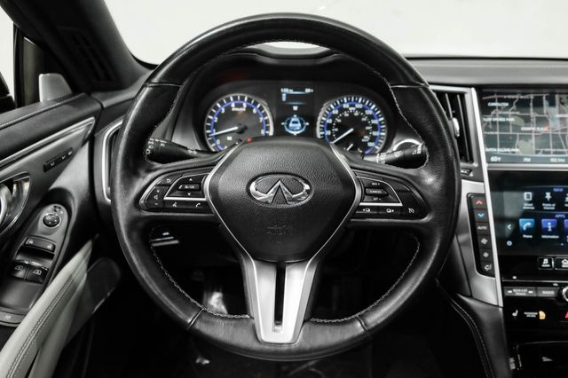 2019 Infiniti Q60 3.0t LUXE w/ Essential Package & Carbon Fiber in Addison, TX 75001