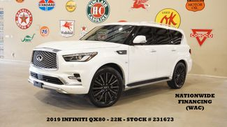 2019 Infiniti QX80 LIMITED AWD ROOF,360 CAM,REAR DVD,HTD/COOL LTH,22K in Carrollton, TX 75006