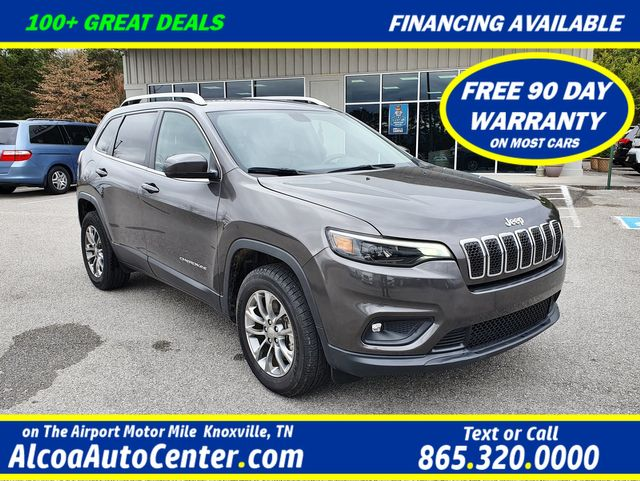 2019 jeep cherokee latitude plus 4wd smart key uconnect louisville tn alcoa auto center 2019 jeep cherokee latitude plus 4wd