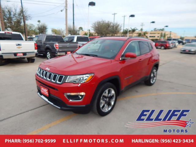 2019 Jeep Compass Limited in Harlingen, TX 78550