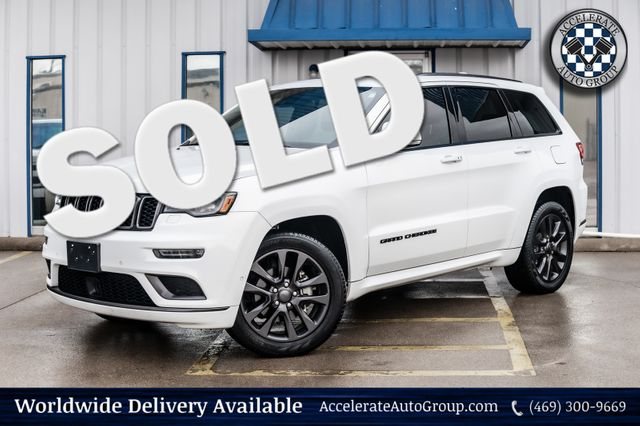 2019 Jeep Grand Cherokee HIGH ALTITUDE EDITION LEATHER NAV BACKUP CAM NICE! in Rowlett
