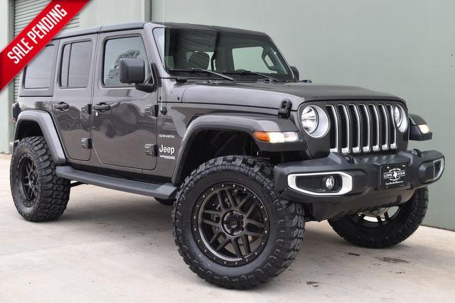 2019 Lifted Jeep Wrangler Unlimited Sahara | Arlington, TX | Lone Star Auto Brokers, LLC-[ 4 ]