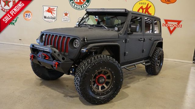 2019 Jeep Wrangler JL Unlimited Sport 4X4 DUPONT KEVLAR,LIFTED,LED'S,KMC 20'S in Carrollton, TX 75006