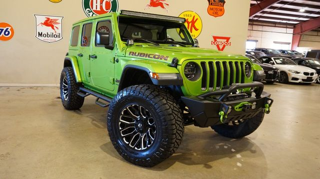 2019 Jeep Wrangler JL Unlimited Rubicon LIFTED,LED'S,NAV,HTD LTH,FUEL WHLS