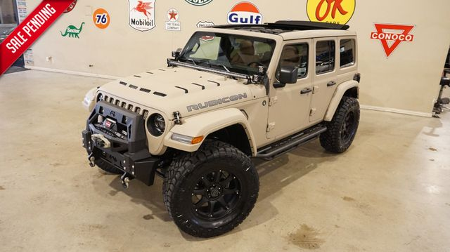 2019 Jeep Wrangler JL Unlimited Rubicon 4X4 SKY TOP,DUPONT KEVLAR,LIFTED,LED'S