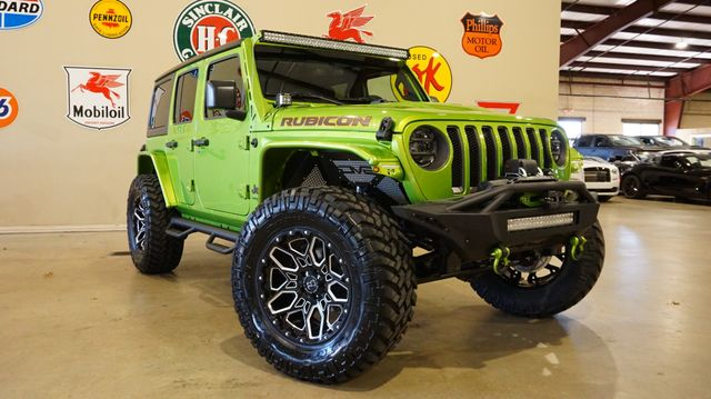 2019 Jeep Wrangler JL Unlimited Rubicon 4X4 LIFTED,LED'S,NAV,HTD LTH,20'S