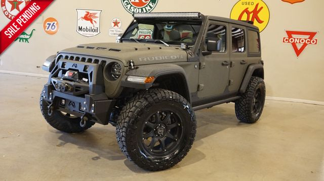 2019 Jeep Wrangler JL Unlimited Rubicon 4X4 SKY TOP,DUPONT KEVLAR,LIFTED,LED'S in Carrollton, TX 75006