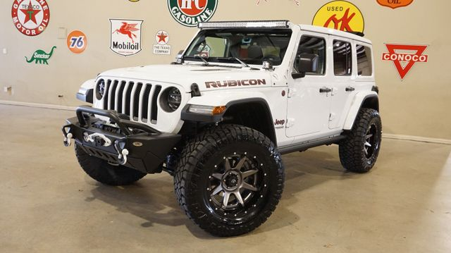 2019 Jeep Wrangler JL Unlimited Rubicon 4X4 SKY TOP,LIFTED,LED'S,FUEL WHLS