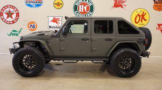 2019 Jeep Wrangler JL Unlimited Rubicon 4X4 DUPONT KEVLAR,SLANT BACK,LIFT,LED'S in Carrollton, TX 75006