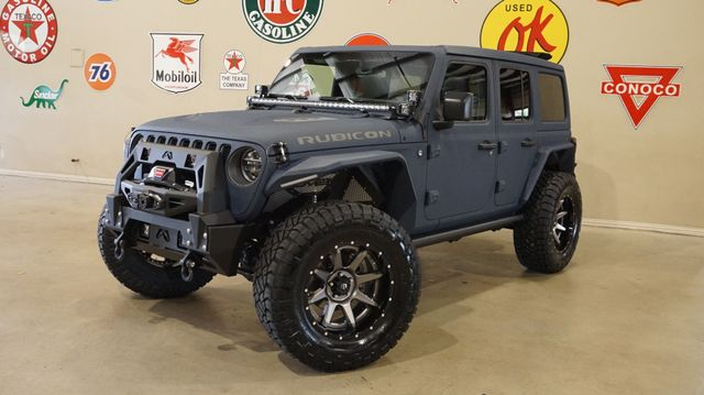 2019 Jeep Wrangler JL Unlimited Rubicon 4X4 SKY TOP,DUPONT KEVLAR,LIFT,LED'S