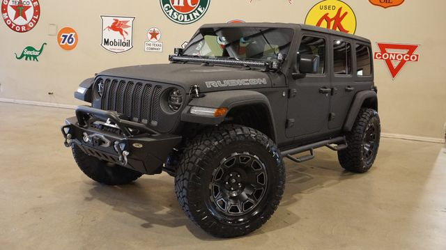 2019 Jeep Wrangler JL Unlimited Rubicon 4X4 DUPONT KEVLAR,LIFT,LED'S,NAV
