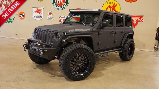 2019 Jeep Wrangler JL Unlimited Rubicon 4X4 DUPONT KEVLAR,LIFT,LED'S,NAV
