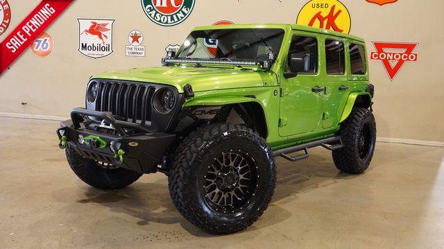 2019 Jeep Wrangler JL Unlimited Sport 4X4 CUSTOM,LIFTED,LED'S,KMC WHLS
