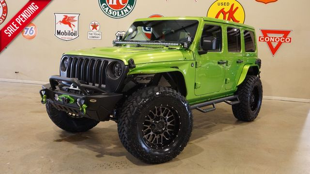 2019 Jeep Wrangler JL Unlimited Sport 4X4 CUSTOM,LIFTED,LED'S,KMC WHLS