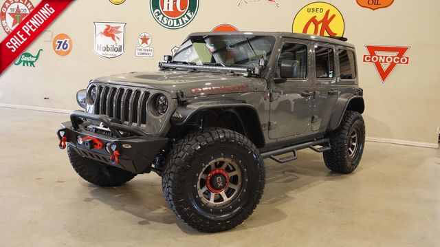 2019 Jeep Wrangler JL Unlimited Rubicon 4X4 SKY TOP,LIFTED,LED'S,XD WHLS