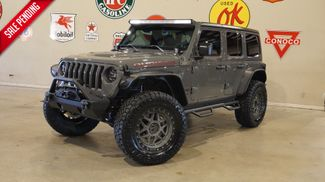 2019 Jeep Wrangler JL Unlimited Rubicon 4X4 LIFTED,BUMPERS,LED'S,NAV,HTD LTH in Carrollton, TX 75006