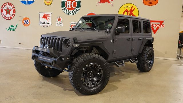 2019 Jeep Wrangler JL Unlimited Sport 4X4 DUPONT KEVLAR,LIFTED,LED'S,NAV in Carrollton, TX 75006