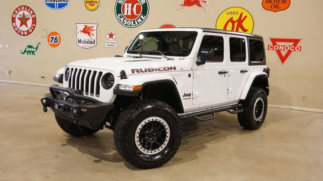 2019 Jeep Wrangler JL Unlimited Rubicon 4X4 LIFTED,BUMPERS,LED'S,NAV,LTH