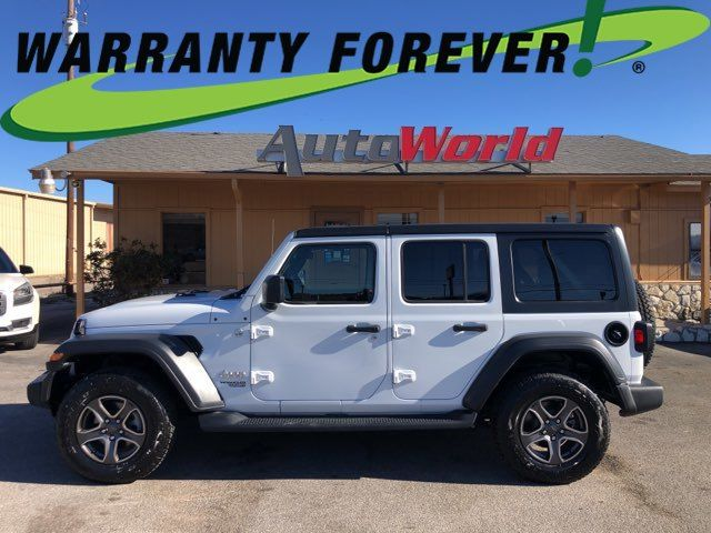 2019 Jeep Wrangler 4x4 Unlimited Sport