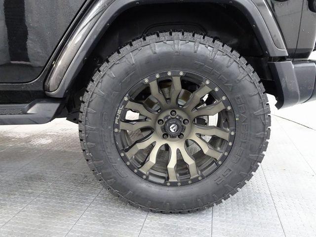 2019 Jeep Wrangler Unlimited Sahara CUSTOM WHEELS AND TIRES in McKinney, Texas 75070