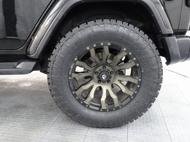 2019 Jeep Wrangler Unlimited Sahara CUSTOM WHEELS AND TIRES in McKinney, Texas 75070