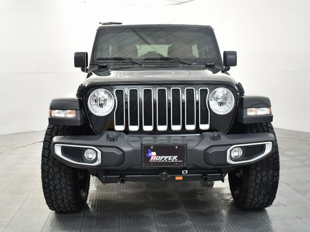 "2019 Jeep Wrangler Unlimited Sahara CUSTOM WHEELS AND TIRES ""Tow R... in McKinney, Texas 75070"