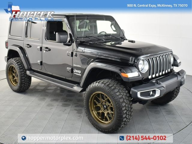 2019 Jeep Wrangler Unlimited Sahara NEW LIFT/CUSTOM WHEELS AND TIRES