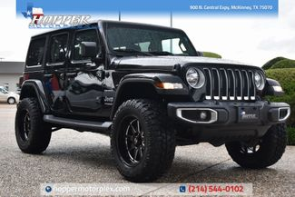 2019 Jeep Wrangler Unlimited Sahara NEW LIFT/CUSTOM WHEELS AND TIRES in McKinney, Texas 75070