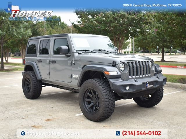 2019 Jeep Wrangler Unlimited Sport NEW LIFT/CUSTOM WHEELS AND TIRES