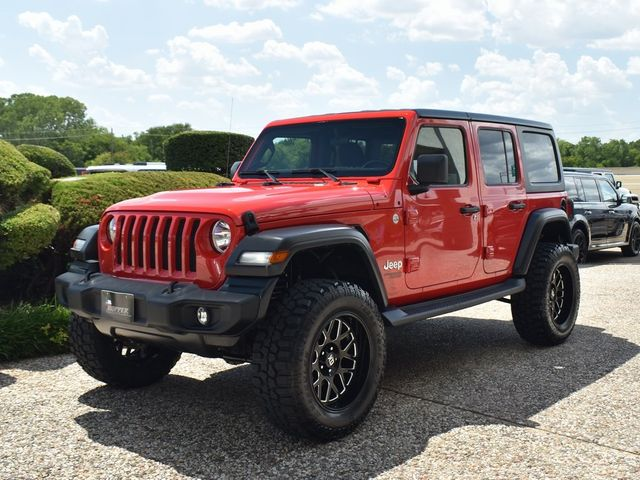 2019 Jeep Wrangler Unlimited Sport NEW LIFT/CUSTOM WHEELS AND TIRES in McKinney, Texas 75070
