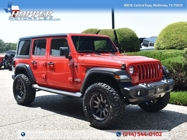 2019 Jeep Wrangler Unlimited Sport Custom Lift, Wheels and Tires
