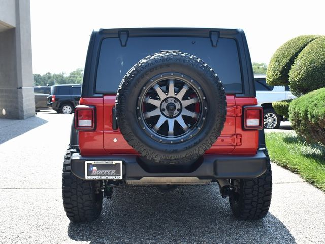 2019 Jeep Wrangler Unlimited Sport Custom Lift, Wheels and Tires in McKinney, Texas 75070