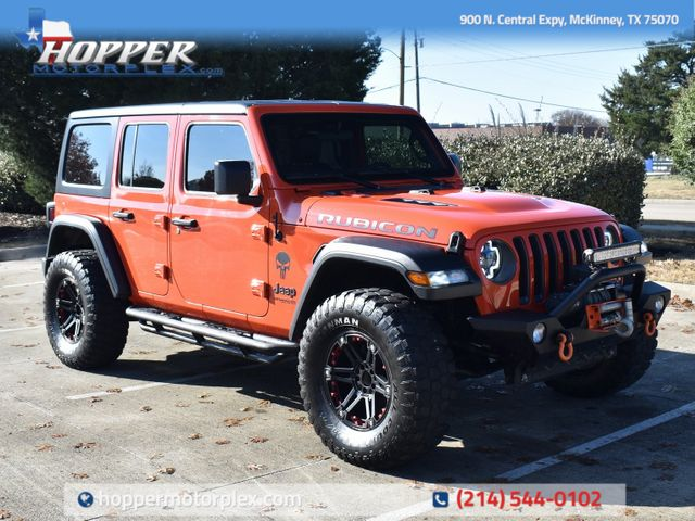 2019 Jeep Wrangler Unlimited Rubicon Custom wheels and tires