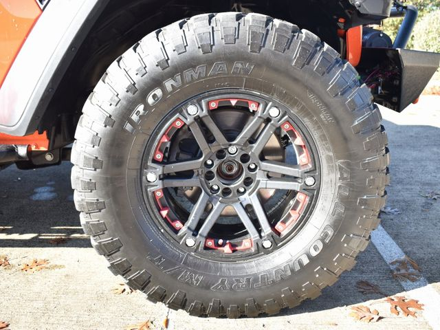 2019 Jeep Wrangler Unlimited Rubicon Custom wheels and tires in McKinney, Texas 75070