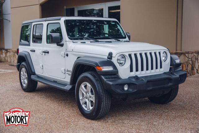2019 Jeep Wrangler Unlimited Sport S in Arlington, Texas 76013