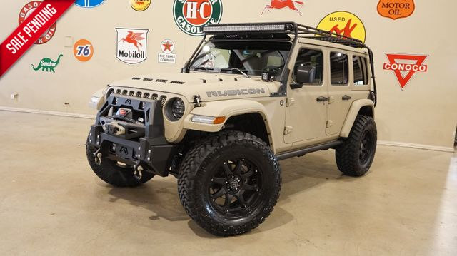 2019 Jeep Wrangler Unlimited Rubicon 4X4 DUPONT KEVLAR,LIFTED,GOBI RACK,LED'S