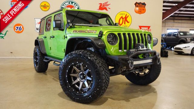 2019 Jeep Wrangler Unlimited Rubicon 4X4 LIFTED,BUMPER'S,LED'S,FUEL WHLS