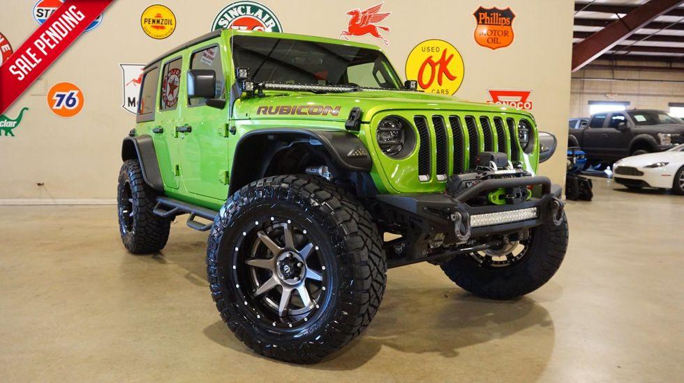 2019 Jeep Wrangler Unlimited Rubicon 4x4 Liftedbumpersledsfuel