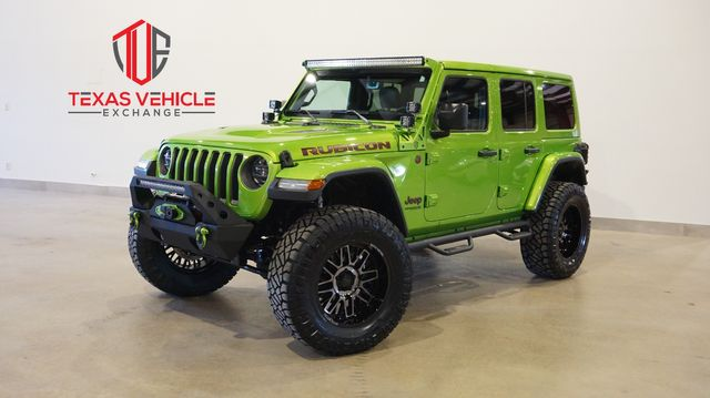 2019 Jeep Wrangler Unlimited Rubicon 4X4 LIFTED,BUMPERS,LED'S,20IN WHLS