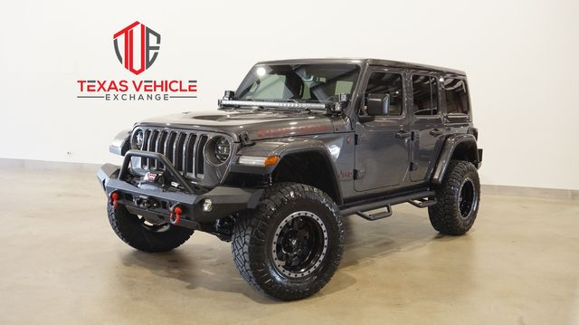 2019 Jeep Wrangler Unlimited Rubicon 4X4 LIFTED,BUMPERS,LED'S,FUEL WHLS
