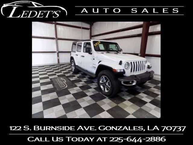 2019 Jeep Wrangler Unlimited Sahara - Ledet's Auto Sales Gonzales_state_zip in Gonzales