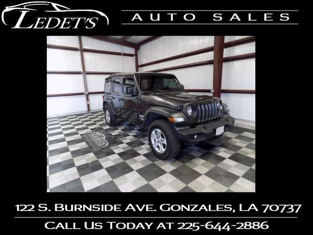 2019 Jeep Wrangler Unlimited Sport S - Ledet's Auto Sales Gonzales_state_zip in Gonzales