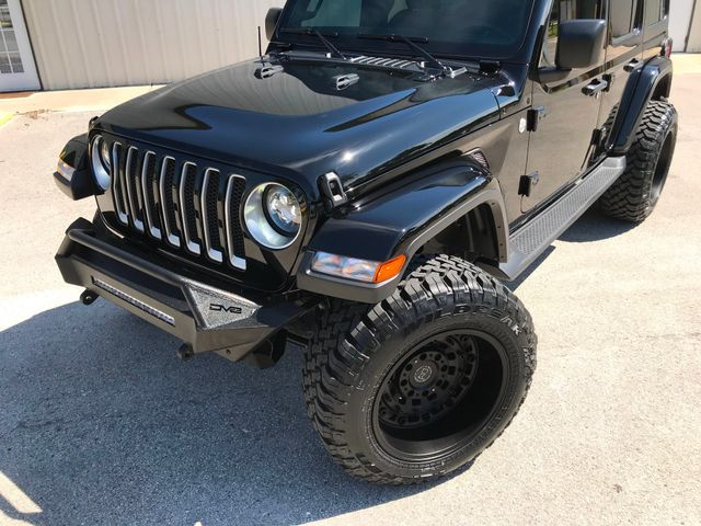 2019 Jeep Wrangler Unlimited Sahara New 3'' Lift Black Rhino wheels 35's LED's in Jacksonville , FL 32246