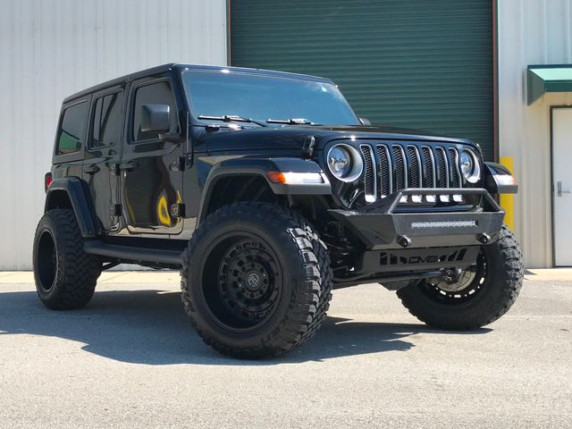 2019 Jeep Wrangler Unlimited Sahara 3'' Lift Black Rhino wheels 35's LED's in Jacksonville , FL 32246