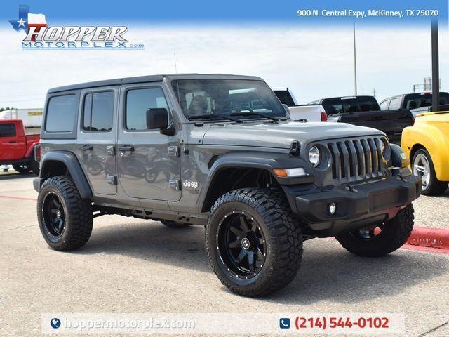 2019 Jeep Wrangler Unlimited Sport S in McKinney, TX 75070