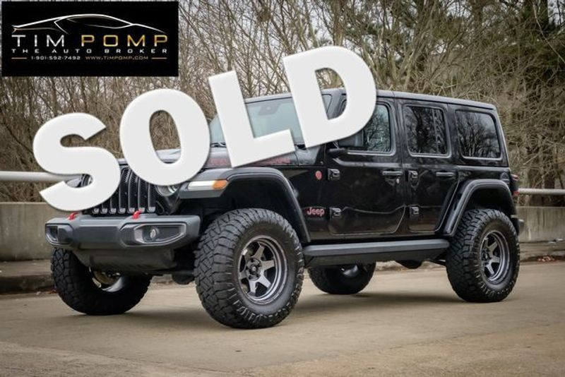 2019 Jeep Wrangler Unlimited Rubicon | Memphis, Tennessee | Tim Pomp - The Auto Broker in Memphis Tennessee